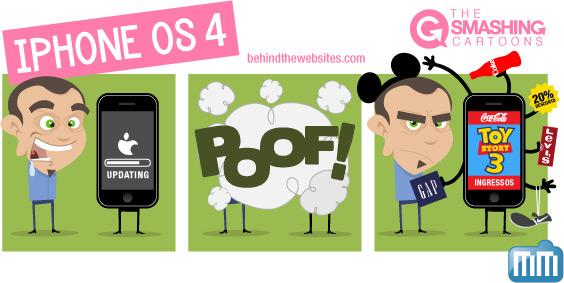 The Smashing Cartoons: iPhone OS 4