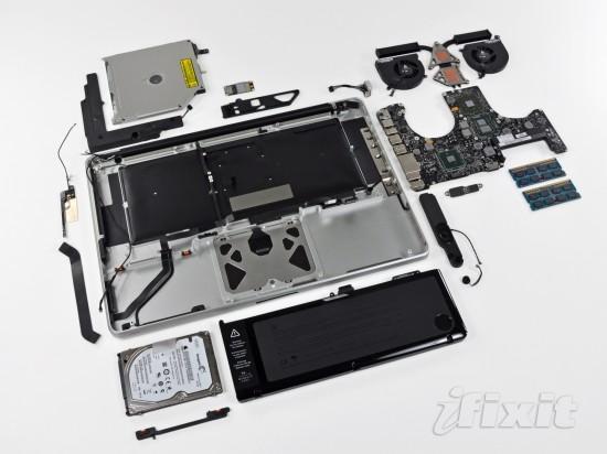 iFixit desmonta novo MacBook Pro de 15 polegadas