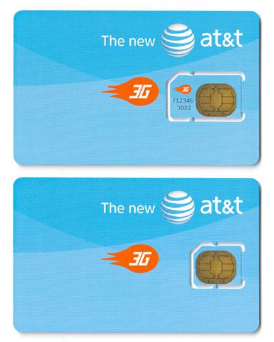 Micro-SIM da AT&T