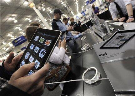 iPad vendido em loja