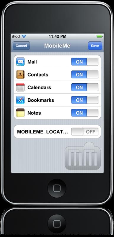 Sincronização de notas no iPhone OS 4.0