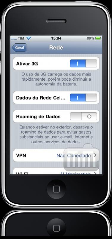 Desligando rede de dados no iPhone OS 4.0