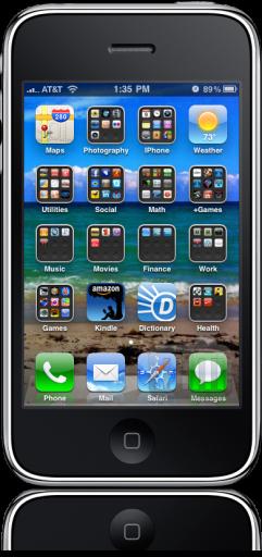 Pastas no iPhone OS 4.0