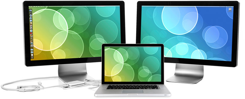 CinemaView Duo com Apple LED Cinema Displays