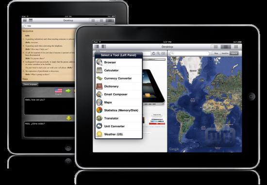 Desktop no iPad