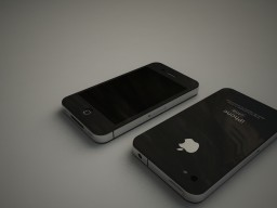 Render 3D do protótipo de iPhone 4G