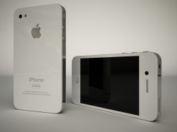 Render 3D do protótipo de iPhone 4G