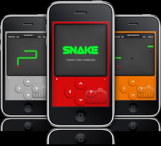Snake 1.2 em iPhones