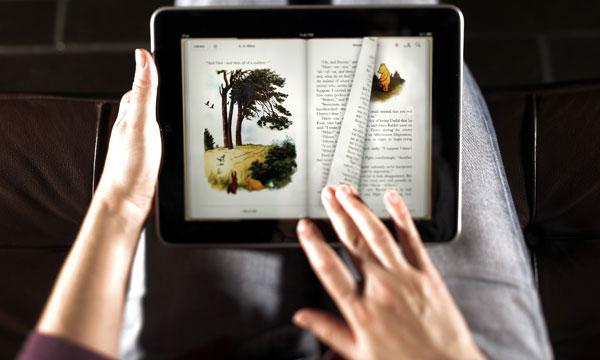 Leitura no iPad