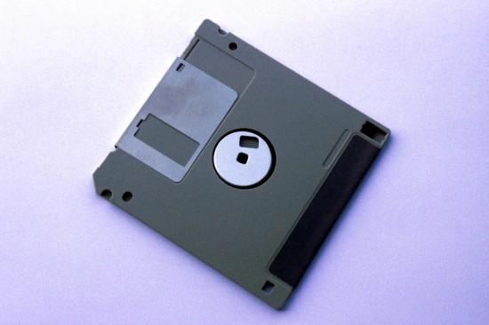 Disquete floppy de 3,5 polegadas