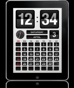 FlipTime XL no iPad