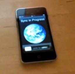 Sync no iPod touch via Wi-Fi