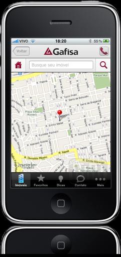 Gafisa Mobile no iPhone