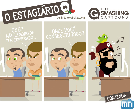 The Smashing Cartoons - O Estagiario