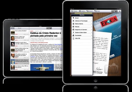 Época Digital em iPads