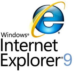Logo e ícone do Microsoft Windows Internet Explorer 9