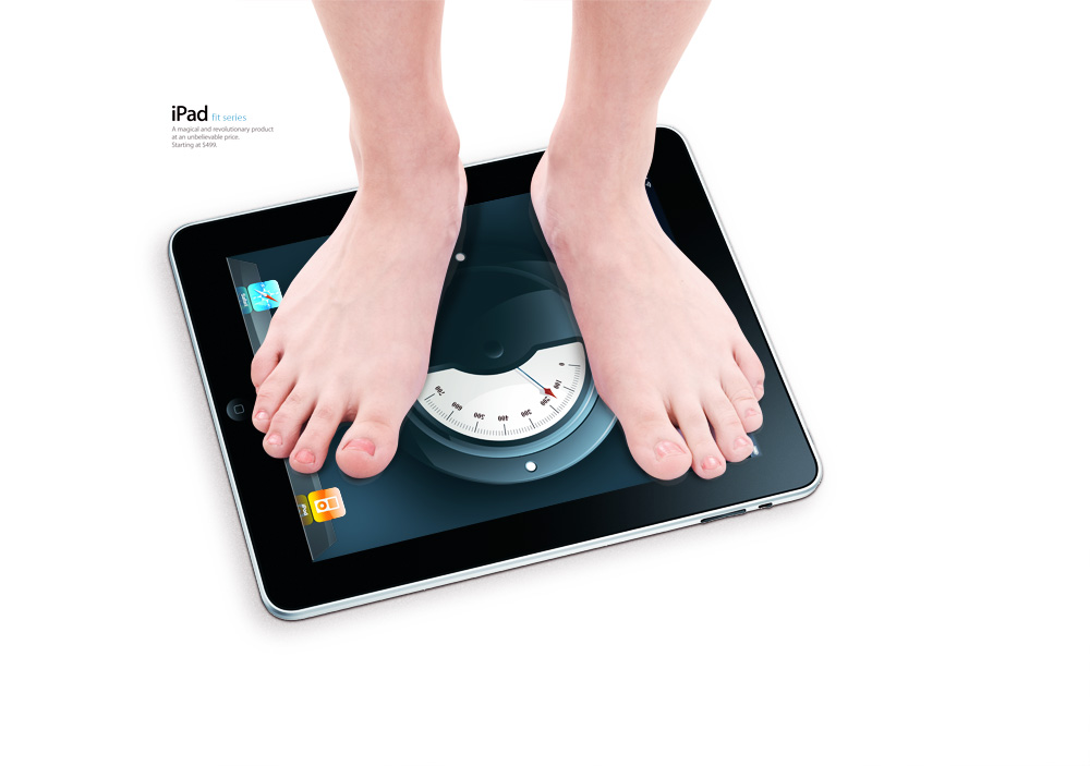 Balança de iPad - DailyBurn