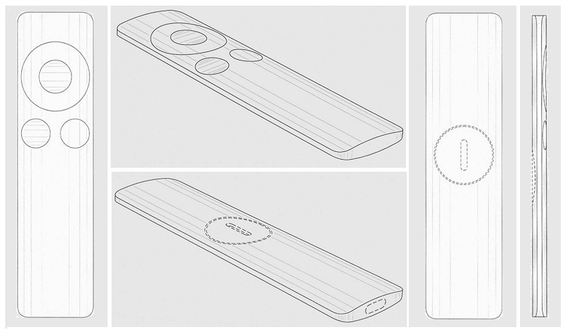 Design do Apple Remote