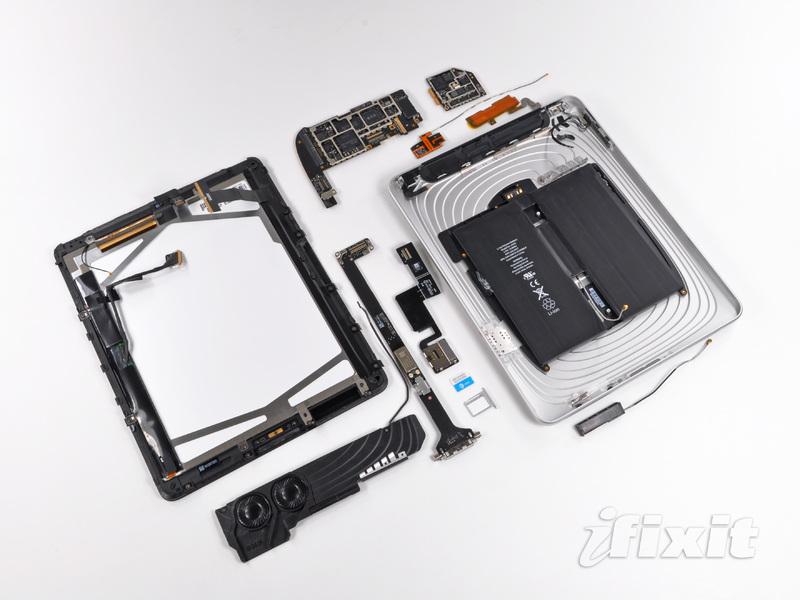 Desmontagem do iPad Wi-Fi+3G