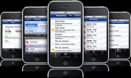 Voos Mobile em iPhones