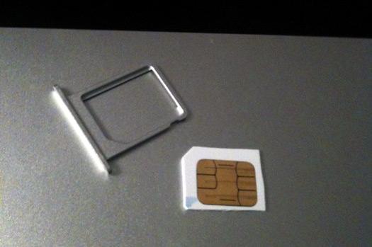 Chip da Vivo cortado para o iPad 3G