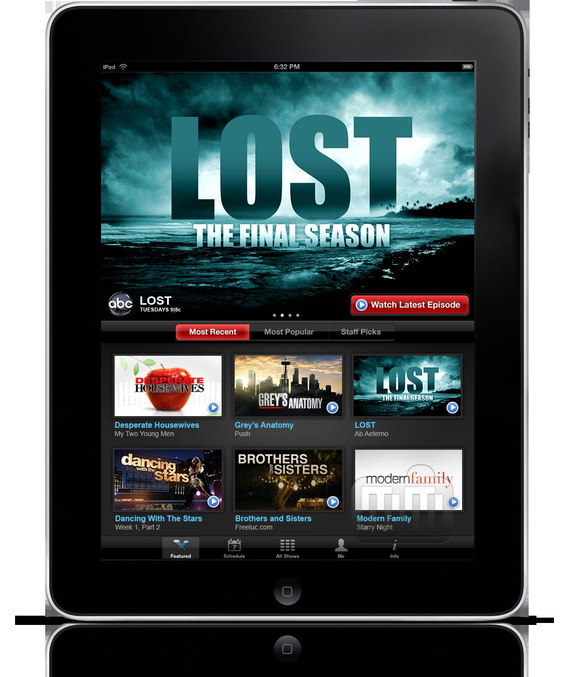 ABC Player no iPad