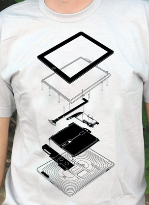 Camiseta Exploded Pad