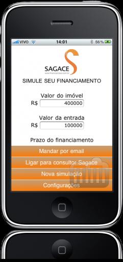 Simulador de Financiamento Imobiliário no iPhone