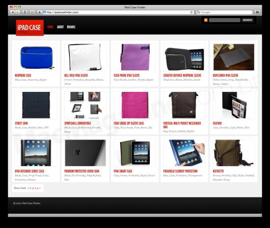 iPad Case Finder