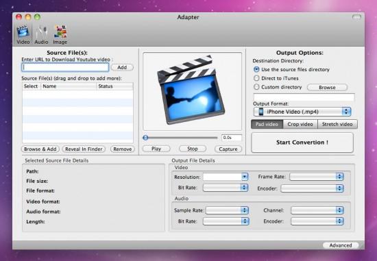 Adapter no Mac OS X