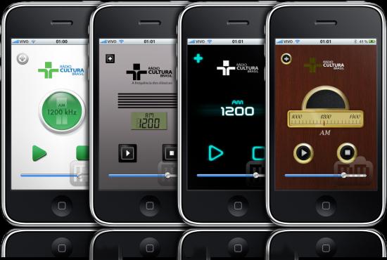 Rádio Cultura em iPhones