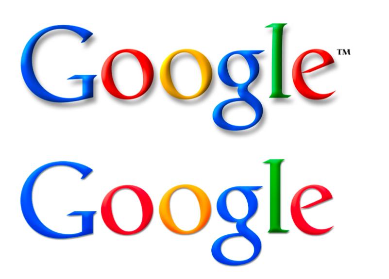Modernização do logo do Google
