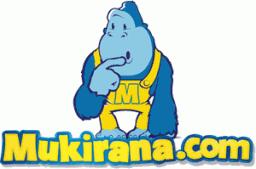 Logo e mascote do Mukirana.com