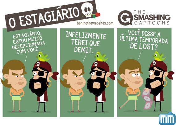 The Smashing Cartoons - O Estagiario (Parte 2)