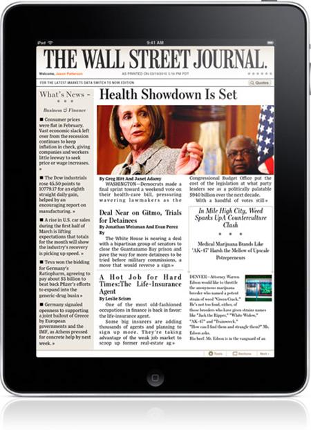 The Wall Street Journal para iPad