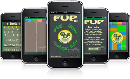 FUP BR em iPhones