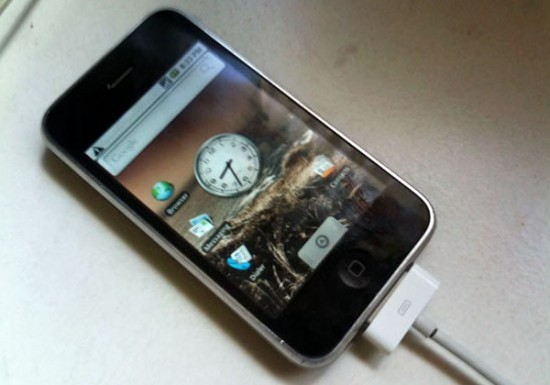 Android no iPhone 3G