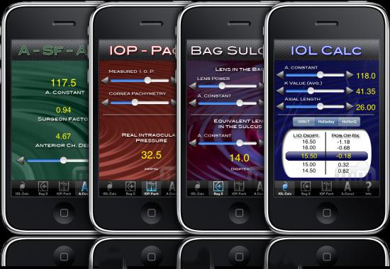Eye Tools em iPhones