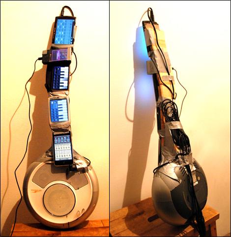 Guitarra de telefones/smartphones