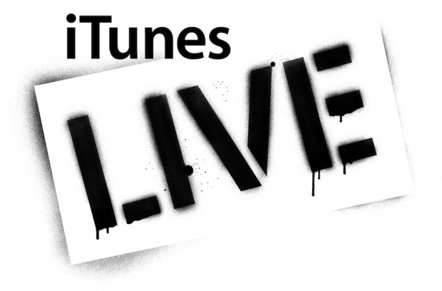 iTunes Live - Marca registrada Apple