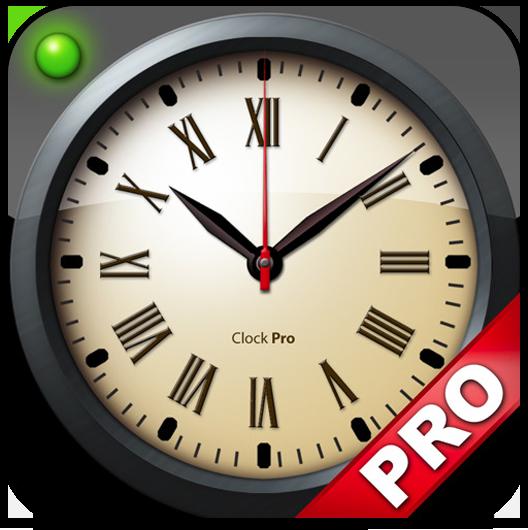 Ícone do Clock Pro