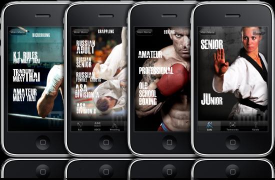 Combat Sports Timer em iPhones