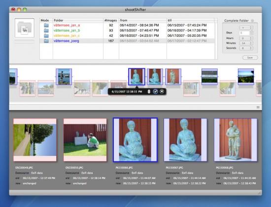 shootShifter no Mac OS X