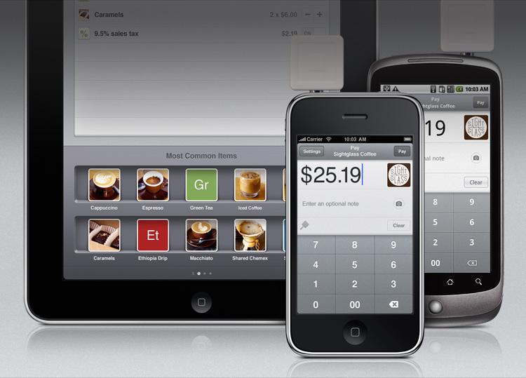 Família de apps Square