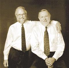 Chuck Geschke e John Warnock, cofundadores da Adobe