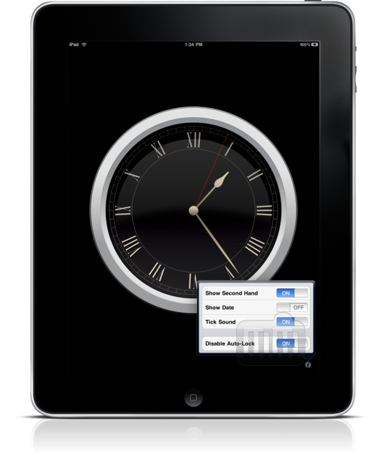 Wall Clock no iPad