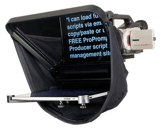 ProPrompter HDi, teleprompter para iPad