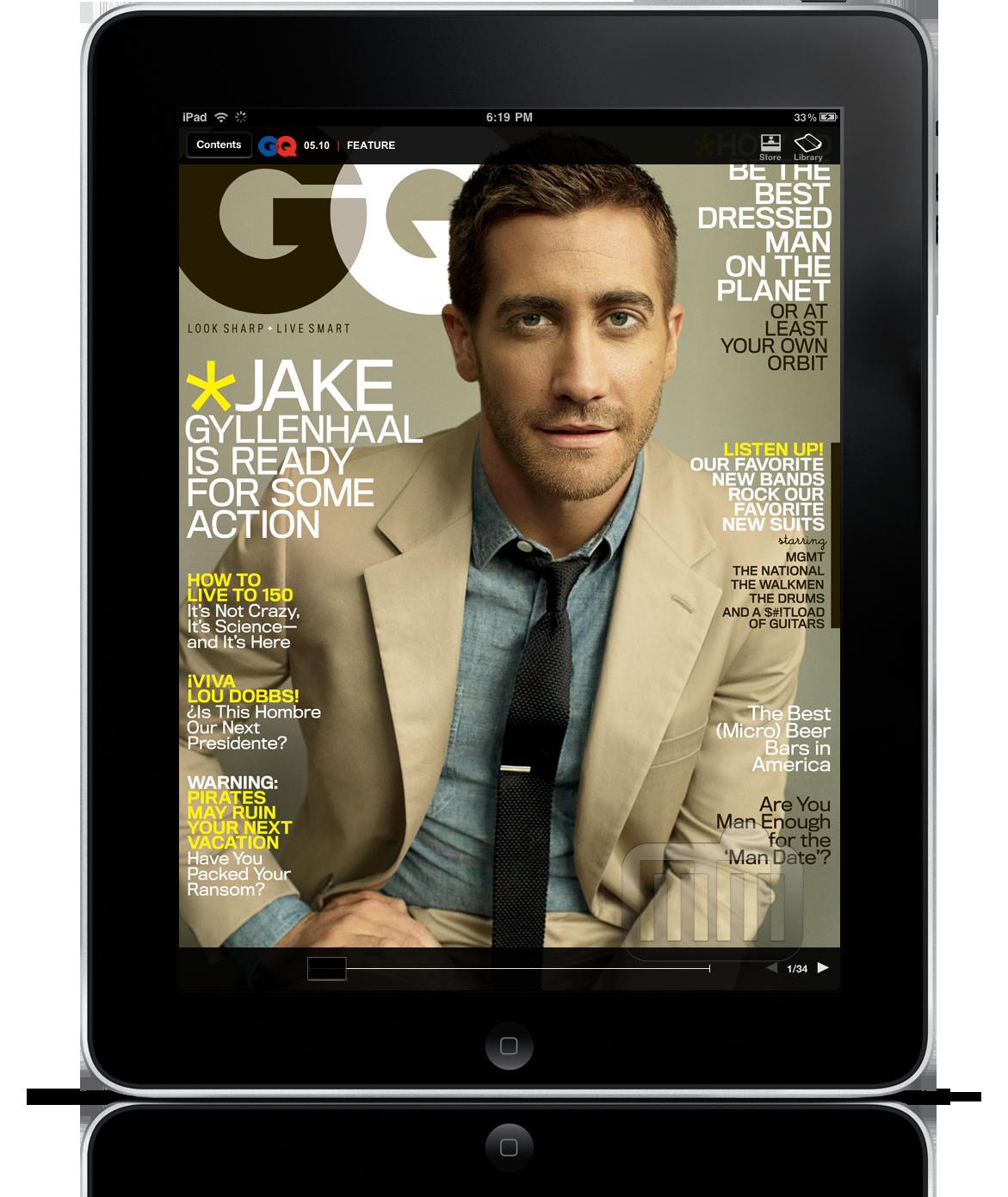GQ Magazine para iPad