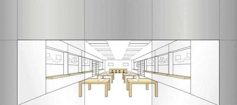 Projeto de uma Apple Retail Store