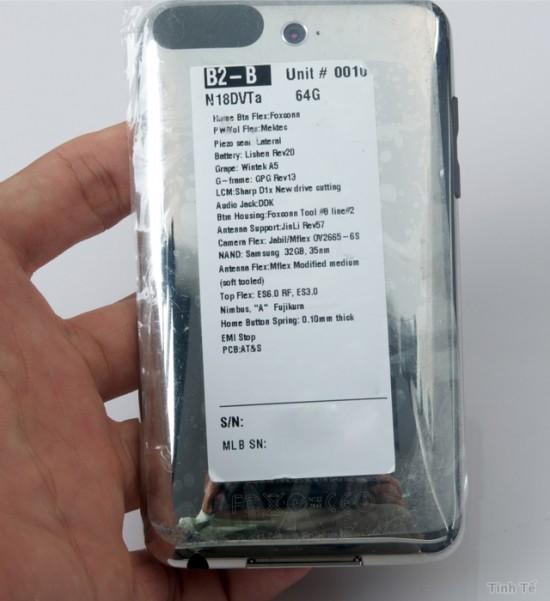 iPod touch com câmera vazado no Vietnã